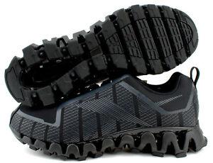 Reebok ZigWild Trail 6 Mens Running Shoes FX1433 Black Grey Size 9 9.5 10 11