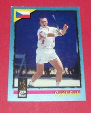 ATP TOUR CARD TENNIS 1995 CYRIL SUK CZECH REPUBLIQUE TCHEQUE CESKA PANINI CARDS