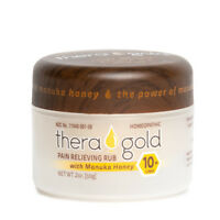Theragold All Natural Anti Inflammatory Cream Pain Relief Cream Manuka Honey