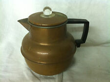 Vintage Copper Color Stove Top Coffee Pot