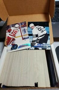 1995-96 Stadium Club Hockey- Complete Set- Hand Collated- # 1-227 Mint