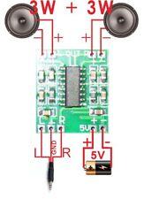 PAM8403 Verstärker Audio Modul 2 x 3 Watt 2.5 - 5V USB Class D Digital Amplifier
