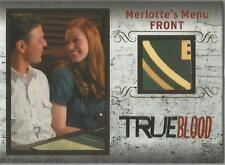 "True Blood Archives - R3 ""Merlotte's Menu Front"" Relic Card #024/299"