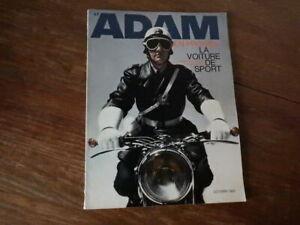 Magazine ADAM La Revue de l'Homme Nr 285 (Octobre 1963) Mode Fashion Lifestyle