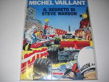 cartonato MICHEL VAILLANT : IL SEGRETO DI STEVE WARSON Comic Art 1989
