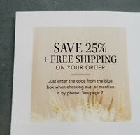 Garnet Hill 25% Off Coupon, Discount, Fast E-Delivery Exp. 12/21/2020