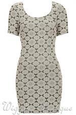 Petite Scoop Neck Short Sleeve Casual Dresses for Women