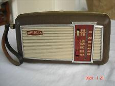 "Poste Radio ""Transistor OPTALIX"" Années 60 - Vintage"
