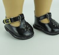 """Doll Clothes 18"""" Shoes Black Mary Jane Fits American Girl Dolls"""