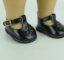 """Doll Clothes AG 18"""" Shoes Black Mary Jane Made To Fit American Girl Dolls"""