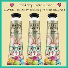 3 x Bath & Body Works HAPPY EASTER Sweet Bunny Berry Hand Cream 1 oz Ship Today