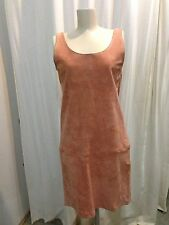 Vintage Suede Shift Dress. Lew Magram New York Size Small