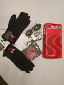 Keis Heated Motorcycle Inner Gloves medium Brand New Boxed