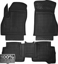 Rubber Carmats for Fiat Fiorino Qubo 2007- All Weather Floor Mats Fully Tailored