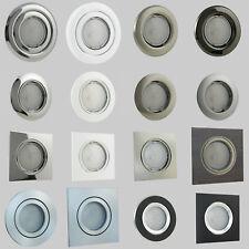 Schwenkbar LED Einbaulampe Deckenspot Strahler Leuchtmittel Küche Rahmen Power