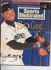 Ken Griffey Jr. baseball Sports Illustrated April 4, 1994