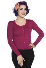 Women's Long Sleeve Button Waist Length Jumpers & Cardigans