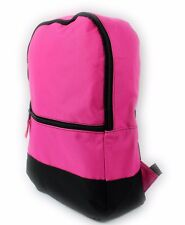 CLASSIC UNIVERSAL BACKPACK RUCKSACK TRAVEL SCHOOL BAG GYM SPORT PINK CYCLING NEW
