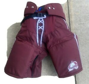 NHL Colorado Avalanche Reverse Retro Warrior Pro Stock Issued Pants size XL