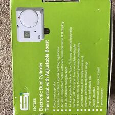 Esi Esctdeb Electronic Dual Energy Saving Cylinder Thermostats with LCD