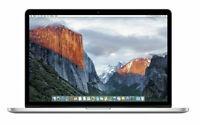"""Apple MacBook Pro Retina MJLU2LL/A 15.4"""" i7-4980HQ 512GB SSD 16GB"""