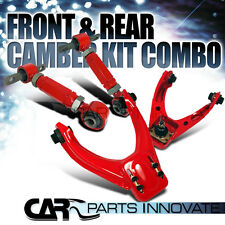 For 1996-2000 Honda Civic Upper Front+Rear Control Camber Arm Kit