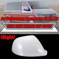 Destro Lucido Bianco Laterale Calotta Specchietto Per VW Transporter T5.1 T6