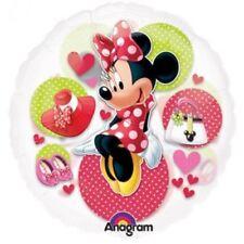 See Thru MINNIE MOUSE Birthday Party Mylar Balloon