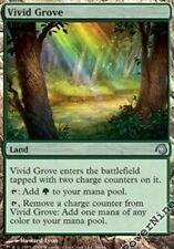 1 PreCon FOIL Vivid Grove - Land PDS Slivers Mtg Magic Uncommon 1x x1