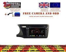 GPS WIFI BT NAVI ANDROID 9.1 DAB+ CARPLAY WIFI FOR HONDA CITY 2014 K6317 LHD