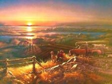Best Friends -Terry Redlin. 2 colorful beautiful pictures with signatures.
