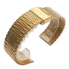 20mm 22mm Mesh Stainless Steel Watch Strap Band For Men Business Replacement