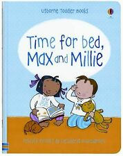 Time for Bed, Max and Millie by Felicity Brooks (2011, Ringbound, New Edition)