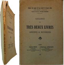 Très beaux livres Bosse Lefrançois 1925 Le Gascon Padeloup Derome armoiries