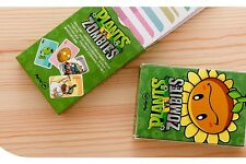 Brand New One Deck PvZ Plants VS Zombies playing cards poker cards free shipping