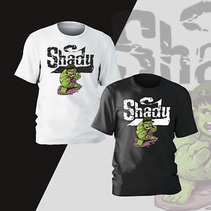 Hulk Eminem Slim Shady Parody T-shirt Unisex Tee Gift Funny Kid Mens Present Tee