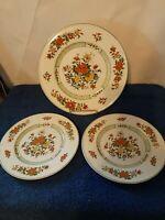 "Villeroy & Boch SUMMER DAY Dinner Plate 10 1/2"" and 2  8''bread/dessert plates"