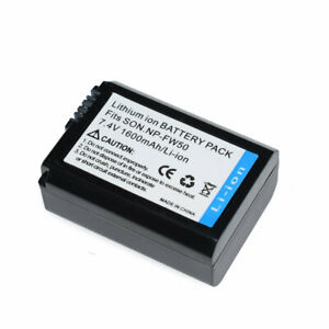 NP-FW50 Battery For Sony Alpha a6400 ILCE-6400 A6500 ILCE-6500 DSC-RX10 Camera
