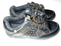 Makaveli Branded 2Pac Womens Size. 8.5 Black/Gold Shoes