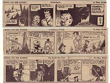 Boots & Her Buddies by Martin - 26 large daily comic strips - Complete Sept 1940