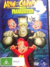 Alvin and the Chipmunks Meet Frankenstein (DVD, 2008) * USED *