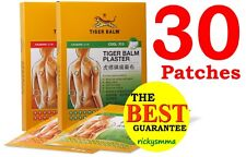 9x Large 10 X 14cm Tiger Balm Pain Relief Plaster Patch 3pk - 9 Pactches Cool