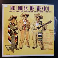 """Los Crucenos con Mariachi y Rudy Martin... """"Melodias de Mexico"""" Vinyl Record LP"""