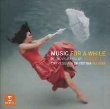 CHRISTINA PLUHAR/+ - MUSIC FOR A WHILE-IMPROVISATIONS ON PURCELL  CD NEU