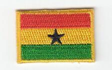 mini  Ghana  Flagge  Patch Aufnäher