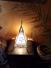 Märchenhafte, orientalische Tischlampe aus Marokko Nr. 3a NEU