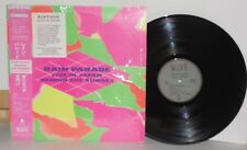 RAIN PARADE Live In Japan Behind The Sunset LP Vinyl Insert Obi Psych PLAYS WELL