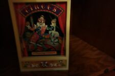 dancing clown jewelry box vintage wind up music box