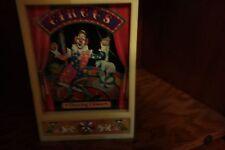 dancing clown jewelry box vintage wind up music box