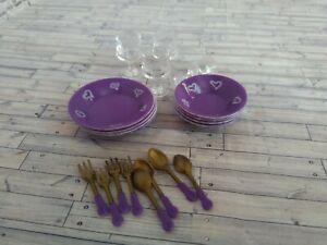 1:6 scale doll tableware Momoko Obitsu Blythe Azone Integrity Toys Pullip